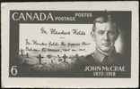 Original title:  John McCrae, 1872-1918 [graphic material].