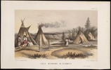 Titre original :  Cree Wigwams in Summer.