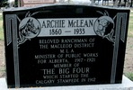 "Original title:  Archibald J ""Archie"" McLean (1860 - 1933) - Find A Grave Photos"