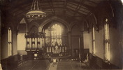 Original title:  Holy Trinity Anglican Church, Trinity Square; Interior.  : Toronto Public Library