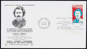Titre original :  [Louis Riel] [philatelic record].  Philatelic issue data Canada : 6 cents
