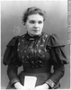 Titre original :  Photograph Miss Maude E. Abbott, Montreal, QC, 1893 Wm. Notman & Son 1893, 19th century Silver salts on glass - Gelatin dry plate process 17 x 12 cm Purchase from Associated Screen News Ltd. II-103172 © McCord Museum Keywords:  female (19035) , Photograph (77678) , portrait (53878)