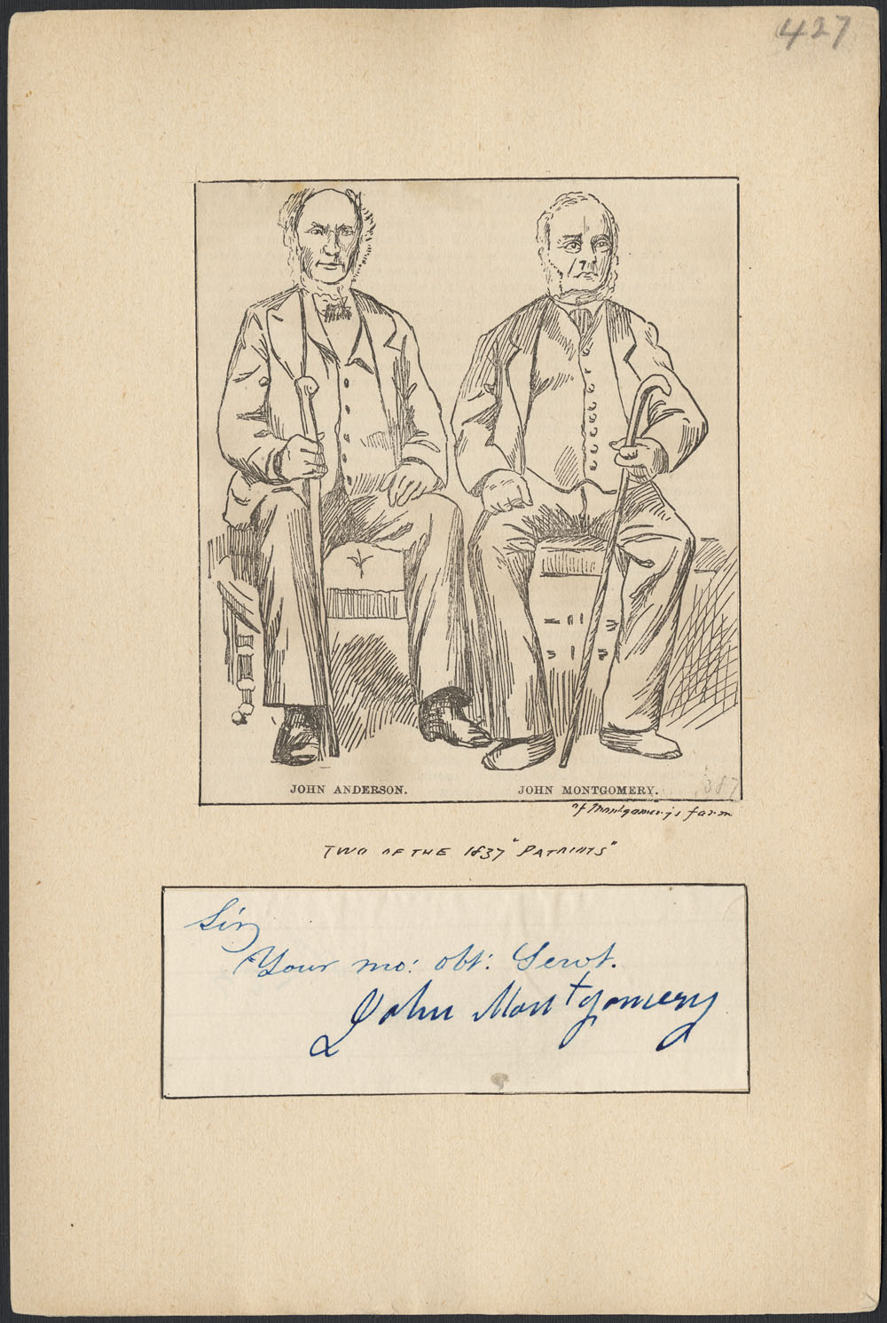 Biography – MONTGOMERY, JOHN (d  1879) – Volume X (1871-1880