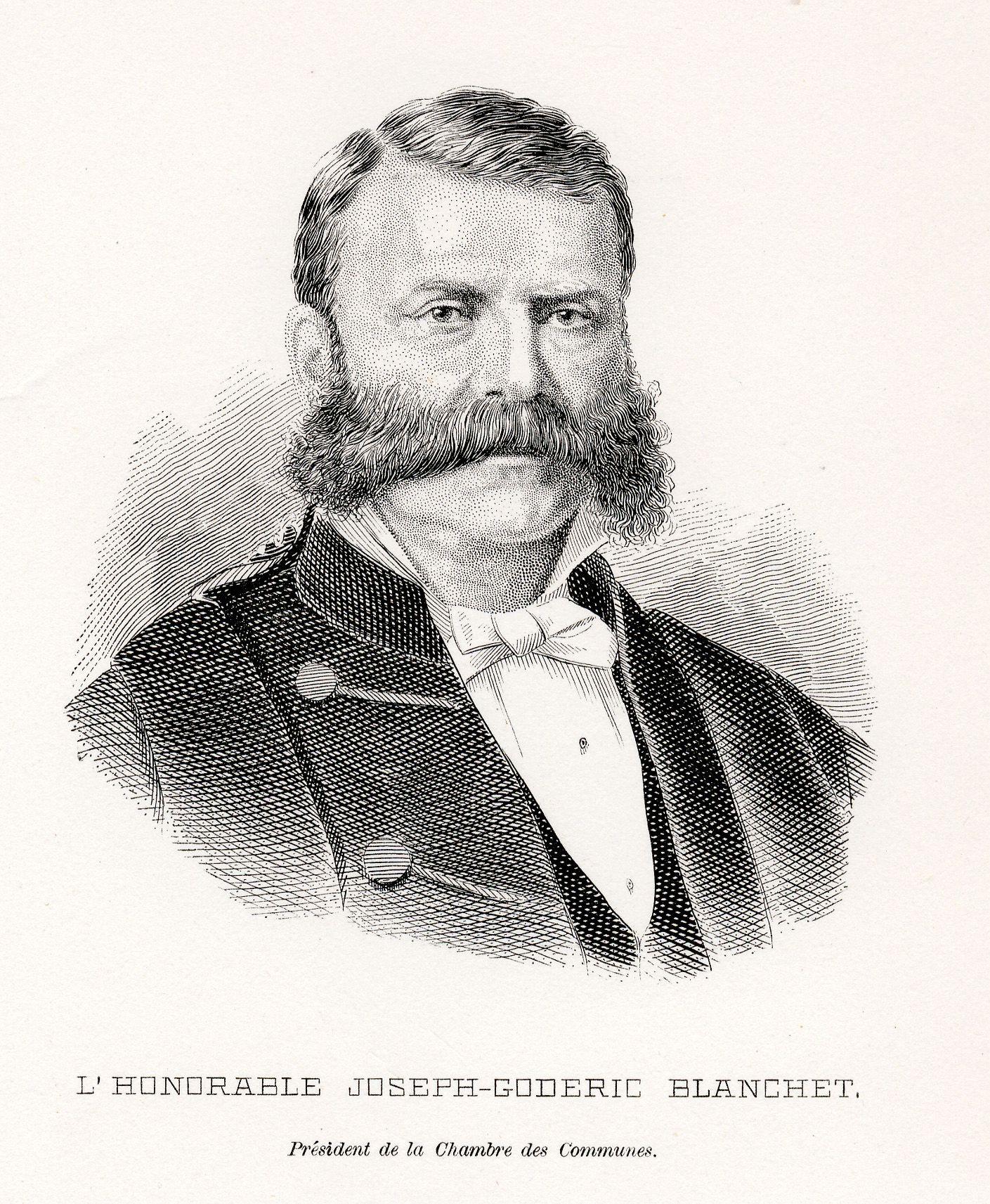 Biography – BLANCHET, JOSEPH-GODRIC – Volume XI (1881-1890 ... Joseph