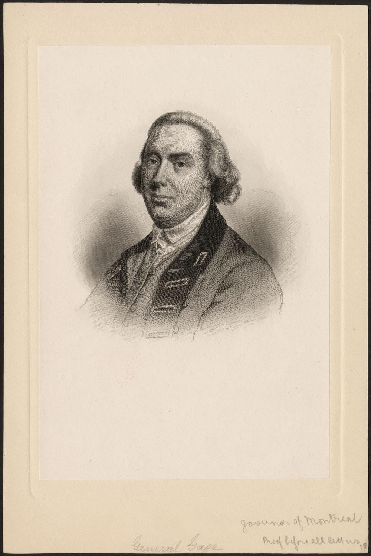 general thomas gage biography