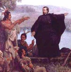a biography of jacques marquette a french jesuit missionary and explorer On may 17, 1673 two french explorers (father jacques pete marquette, a jesuit missionary from france and louis joliet, a french-canadian fur trader and explorer) were chosen by frontenac, governor of new france, to lead an expedition to find the direction and mouth of the mississippi river, known by the natives as messipi the.