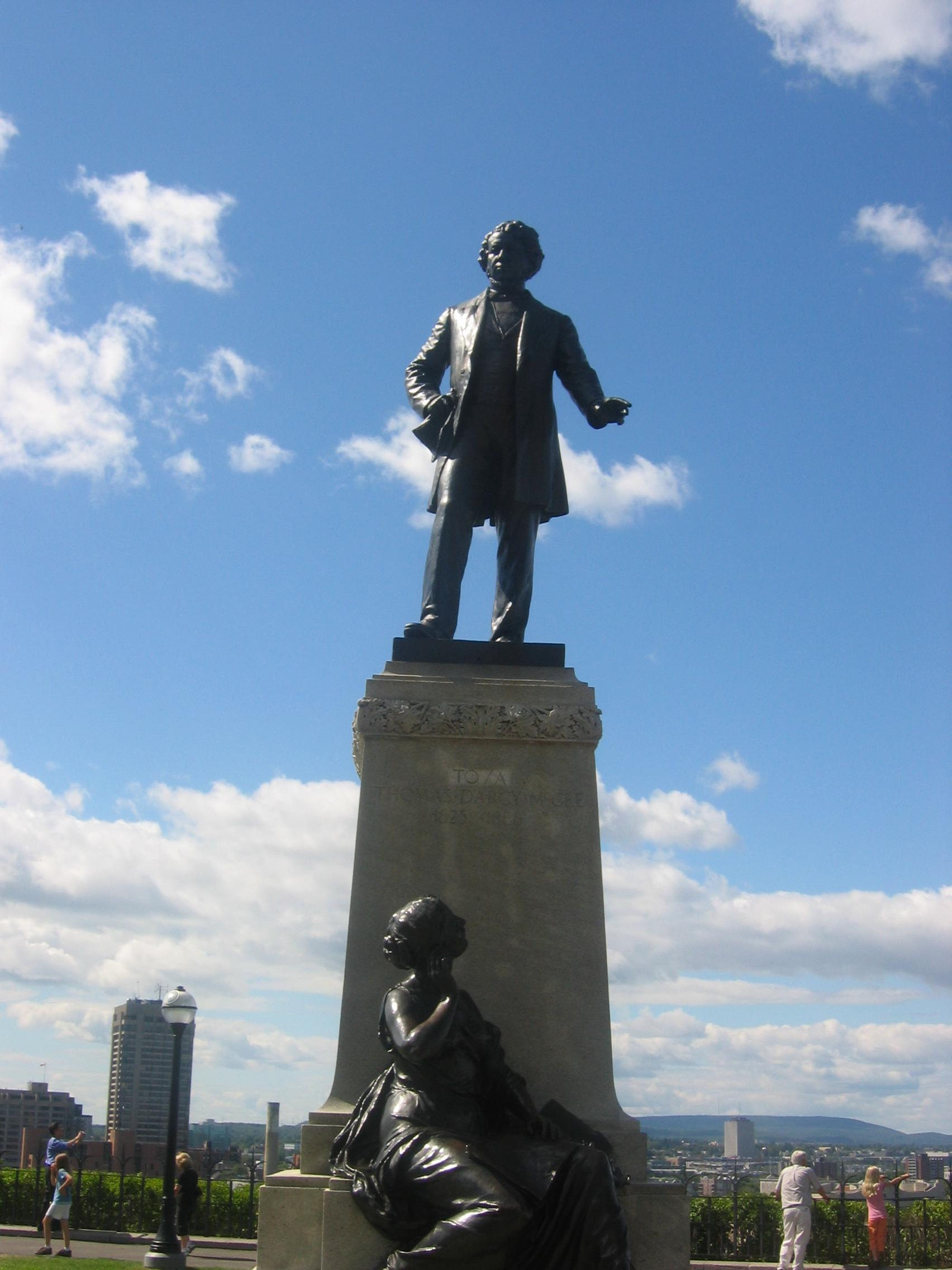 Thomas D'arcy McGee, how was he a leader?