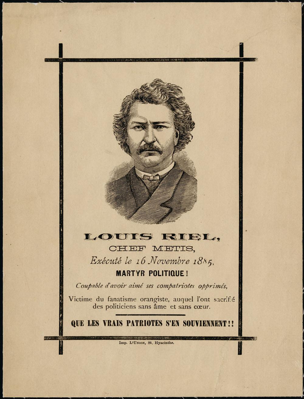 Louis Riel Biography