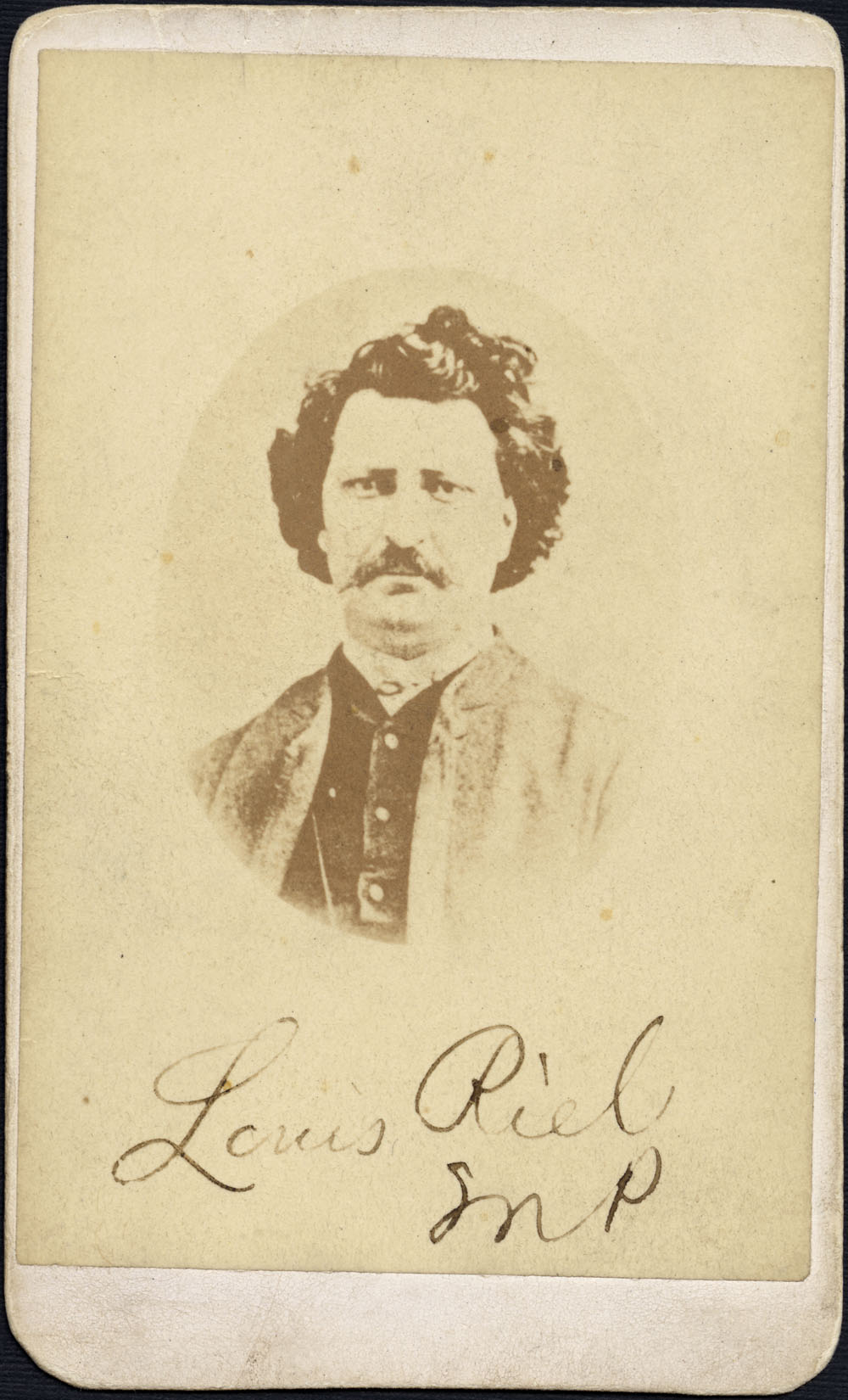 a biography of louis riel the canadian folk hero Googling 'louis riel images' turns up pictures on the one hand monumental and heroic, and on the other, commonplace and 'realistic' snapshots of riel in a mackinaw coat and at times even beardless rest alongside the frock-coated statesman these in turn abut upon shots of a comic-book hero and a.