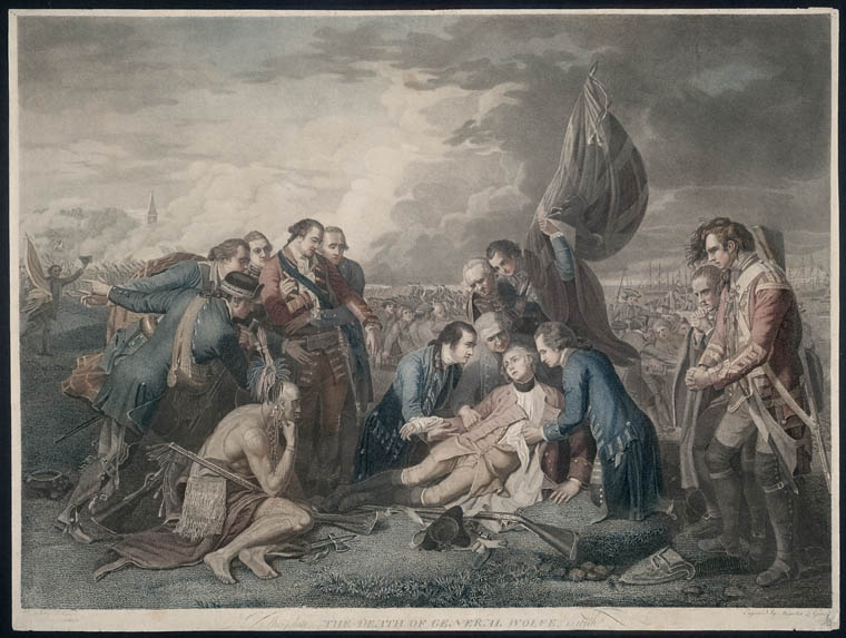 West Death Of General Wolfe