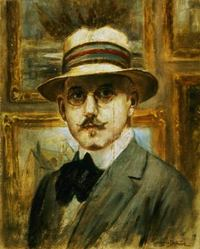 Original title:  File:Autoportrait de Georges Delfosse.jpg - Wikimedia Commons