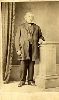 Original title:  John Lynch, ca. 1880. RPA photograph collection, Region of Peel Archives.