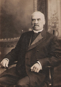 Original title:  Portrait of Rev. Richard A. Ball, STCM, T2008.16.9.  Image courtesy of St. Catharines Museum, St. Catharines, Ontario.