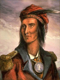 Titre original :    Description Tecumseh English: Portrait of Tecumseh – Nineteenth-century portrait by Benson John Lossing, after a pencil sketch by Pierre Le Dru, taken from life in 1808. Deutsch: Benson John Lossings Portrait des Shawnee-Häuptlings Tecumseh nach Pierre Le Drus Bleistiftskizze von 1808. Polski: Tecumseh – dziewiętnastowieczny porter autorstwa B. Lossinga, na podstawie ołówkowego szkicu P. Le Dru, sporządzonego w 1808 r. Date Source B. J. Lossing: Pictorial Field Book of the War of 1812 Author Benson John Lossing (1813–1891) Description American historian Date of birth/death 12 February 1813(1813-02-12) 3 June 1891(1891-06-03) Location of birth/death Beekman, New York Dover Plains, New York Permission (Reusing this file) This is a faithful photographic reproduction of an original two-dimensional work of art. The work of art itself is in the public domain for the following reason: