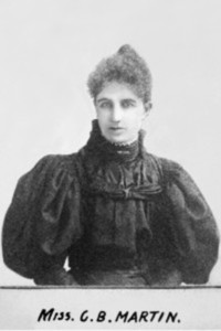 "Titre original :  ""Clara Brett Martin '96 (1874-1923)""  Source: http://digitalcommons.osgoode.yorku.ca/catalysts/7/  This work is licensed under a Creative Commons Attribution-Noncommercial-No Derivative Works 4.0 License."