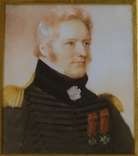 Titre original :  File:Charles-Michel d'Irumberry de Salaberry (1778-1829), by Anson Dickinson, 1825, watercolor on ivory - Château Ramezay - Montreal, Canada - DSC07496.jpg - Wikimedia Commons