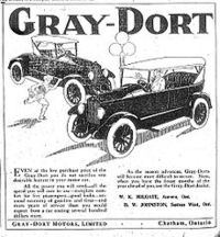 Titre original :  Gray–Dort Motors - Wikipedia