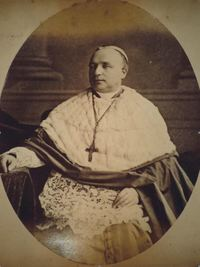 Original title:  Bishop George Conroy. From: Parsons Album, W.J. Ryan Collection, Archives of the Archdiocese of Saint John's, Newfoundland.