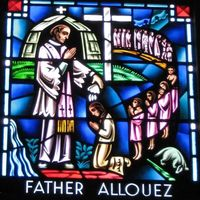 Titre original :  Father Claude Allouez window, Cathedral of St. Joseph the Workman, LaCrosse, WI. File:Claude-Jean Allouez.jpg - Wikipedia, the free encyclopedia