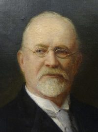 Original title:  Image of the portrait of Charles Frederick Fraser courtesy of the Hall of Fame for Leaders and Legends of the Blindness Field, American Printing House for the Blind, Louisville, Kentucky.