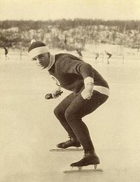 Original title:  Charles Ingraham Gorman, Speed Skater, Saint John, New Brunswick circa 1921.JPG