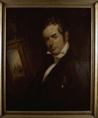 Original title:  Charles Fothergill. Maker: Grove Sheldon Gilbert (American, 1805–1885). Medium: Oil on canvas. Date: 1834. Courtesy of the Royal Ontario Museum, © ROM.