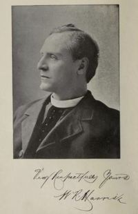 Original title:  W.R. Harris. From: The Catholic Church in the Niagara Peninsula, 1626-1895. W. Briggs, Toronto: 1895. Source: https://archive.org/details/catholicchurchin00harr_0/page/n5/mode/1up