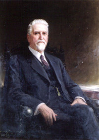 EN:UNDEF:public_image_official_caption Robert Mathison, MA [Superintendant and Principal, Ontario School for Deaf, 1879-1906]. John Wycliffe Lowes (J.W.L.) 1923 Oil on canvas Accession No.: 622616