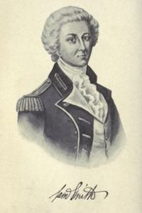 Original title:  Samuel Smith. From: The lieutenant-governors of Upper Canada and Ontario, 1792-1899 by D.B. Read. Toronto: Briggs, 1900.  Source: https://archive.org/details/lieutenantgovern00readuoft/page/n131/mode/2up.