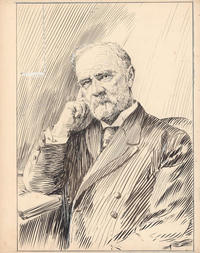 Original title:  Rev. John Forrest: Third president of Dalhousie and namesake of the Forrest Building. This drawing was done by Arthur Lismer, a member of the Group of Seven. Lismer was commissioned to produce a series of drawings to commemorate Dalhousie's centennial in 1919. Forrest was born in New Glasgow, NS, in 1842, and was a Presbyterian minister and educator. Initially he served as the representative for the Presbyterian Church on Dalhousie's board of governors; in 1881, he resigned that position to become a professor of history. From 1885 to 1910, Forrest served as the university President.  ~ Source: Dalhousie University Archives Reference code 0000-091, Box 1, Folder 13, Item 2 ~ Creator: Arthur Lismer ~ Date: [1919?]. https://historicnovascotia.ca/items/show/8#&gid=1&pid=6