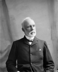 Original title:  The Hon. Justice Henri Elzéar Taschereau (Judge of the Supreme Court of Canada) b. Oct. 7, 1836 - d. Apr. 14, 1911.