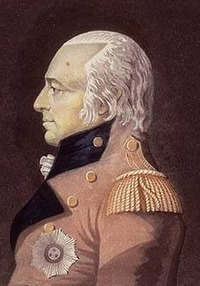 "Original title:    Description Modified version by myself of Image:James Henry Craig (color).jpg, Portrait of ""His Excellency Sir James Henry Craig, Captain-General, and Governor in Chief of Lower Canada, Upper Canada"". ca 1810-1811, London, England. Print (hand-coloured aquatint and etching on wove paper). Date ca 1810-1811 Source Library and Archives Canada, Acc. No. 1990-317-1 This image is available from Library and Archives Canada This tag does not indicate the copyright status of the attached work. A normal copyright tag is still required. See Commons:Licensing for more information. Library and Archives Canada does not allow free use of its copyrighted works. See Category:Images from Library and Archives Canada. Author Artist : Gerritt Schipper (ca. 1770/5-1825). Engraver : unknow, ca 1810-1811 Permission (Reusing this file) Credit: Library and Archives Canada, Acc. No. 1990-317-1. Copyright"