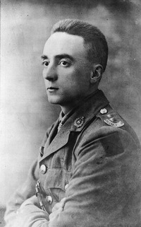 Original title:  Lt. Gordon M. Flowerdew, Victoria Cross recipient.