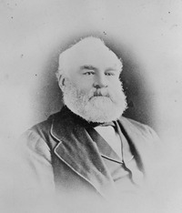 Original title:  <p>William J. Christie. Circa 1873.  Courtesy Hudson's Bay Company Archives, Archives of Manitoba N20726.</p><p>Born in Fort Albany on Hudson's Bay in 1824, the son of Scotsman Alexander Christie and his Métis wife, Ann Thomas, Christie had been educated in Scotland before returning to Rupert's Land and joining the Company.  In 1859, Christie was chief trader for the Saskatchewan District and officer in command at Fort Edmonton. He remained in charge at Fort Edmonton until 1872, when he retired with the rank of Chief Inspecting Factor. He later served as a commissioner for the Treaty 4 and Treaty 6 negotiations.</p>