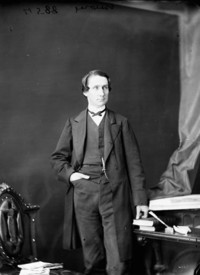Original title:  Hon. Alexander Morris, (Minister of Inland Revenue) b. Mar. 17, 1826 - d. Oct. 28, 1889.
