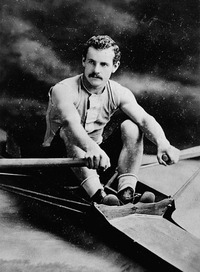 Original title:  Edward Hanlan, champion sculler of America.