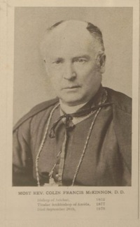 Original title:  Most Rev. Colin Francis McKinnon