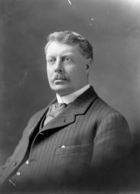 Original title:  Dr. John Gunion Rutherford (1857-1923), Veterinary Director General and Live Stock Commissioner, Department of Agriculture.
