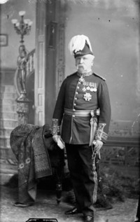 Original title:  Major-General, Frederick D. Middleton (b. Nov. 2, 1825 - d. Jan. 25, 1898)
