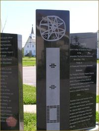 Titre original :    Description English: Jean-Baptiste Cope Monument, Shubenacadie, Nova Scotia, Canada Date 2007(2007) Source Own work Author Hantsheroes