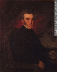 Titre original :  Painting Portrait of Archibald Campbell Théophile Hamel About 1852, 19th century Oil on canvas 118.3 x 99.3 cm Gift of Dr. George Cantlie M981.213.1 © McCord Museum Keywords:  male (26812) , Painting (2229) , painting (2226) , portrait (53878)