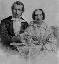 Original title:  Rev. and Mrs. George Nicol Gordon, c. 1856