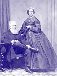 Original title:    Samuel Bealey Harrison and wife c. 1840