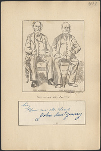 Titre original :  John Anderson and John Montgomery, two of the 1837 'patriots'.