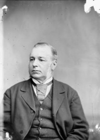 Original title:  Hon. James Cockburn, M.P. (West Northumberland, Ont.) b. Feb. 13, 1819 - d. 1882.