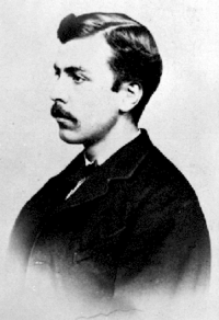 Original title:    Alexander Edmund Batson Davie, premier of British Columbia [ca. 1868]. Photographer unknown.  Found at [1] BC Museum Archives.