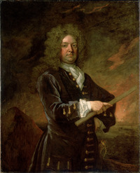 Titre original :    Description English: Sir John Leake (4 July 1656 – 21 August 1720) Date Late 17th century - Early 18th century Source http://collections.rmg.co.uk/collections/objects/14308.html Author Sir Godfrey Kneller (1646–1723)   Alternative names Gottfried Kneller, Birth name: Gottfried Kniller Description German painter, draughtsman, engraver and miniaturist Date of birth/death 8 August 1646 7 November 1723 Location of birth/death Lübeck London Work period between circa 1660 and circa 1723 Work location Leiden (circa 1660–1665), Rome, Venice (1672–1675), Nuremberg, Hamburg (1674–1676), London (1676–1723), France (1684–1685) Authority control VIAF: 74127041 LCCN: n82103048 GND: 119080958 BnF: cb14980197d ULAN: 500015875 ISNI: 0000 0000 8154 5352 WorldCat WP-Person  This is a faithful photographic reproduction of an original two-dimensional work of art. The work of art itself is in the pub