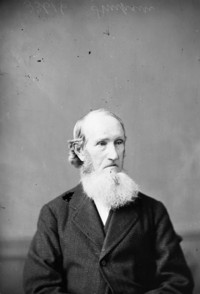 Original title:  Hon. John Simpson, (Senator) b. May 1812 - d. 1885.