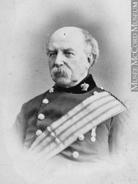 Original title:  Photograph Lt. Gen. Sir William Fenwick Williams, Montreal, QC, 1862 William Notman (1826-1891) 1862, 19th century Silver salts on paper mounted on paper - Albumen process 8.5 x 5.6 cm Purchase from Associated Screen News Ltd. I-2314.1 © McCord Museum Keywords:  male (26812) , Photograph (77678) , portrait (53878)
