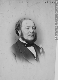 Original title:  Photograph Mr. Buntin, Montreal, QC, 1871 William Notman (1826-1891) 1871, 19th century Silver salts on paper mounted on paper - Albumen process 13.7 x 10 cm Purchase from Associated Screen News Ltd. I-62847.1 © McCord Museum Keywords:  male (26812) , Photograph (77678) , portrait (53878)